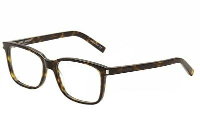 Saint Laurent Eyeglasses SL89 SL/89 002 Havana/Transparent Optical Frame 54mm