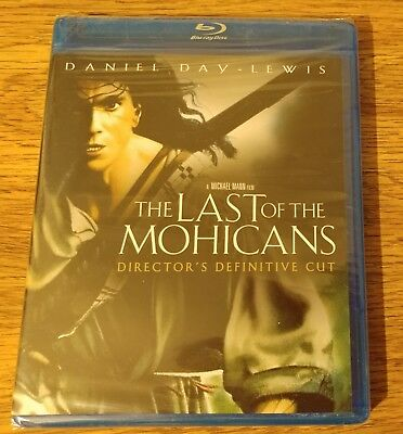 The Last of the Mohicans: Director Definitive Cut, Blu-ray, Daniel Day Lewis NEW