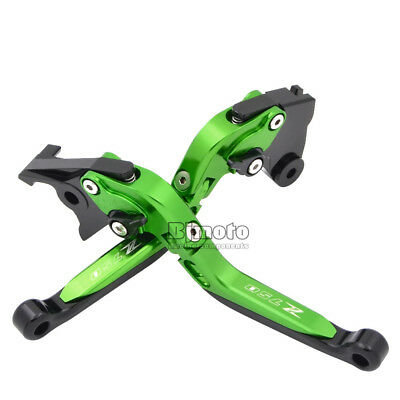 Foldable Folding Extendable Brake Clutch Levers for Kawasaki Z750 2007-2012 GR