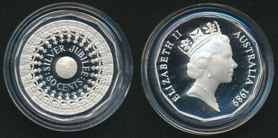 Australia 1989 50c Jubilee Masterpieces in Silver Proof Coin Cat $45