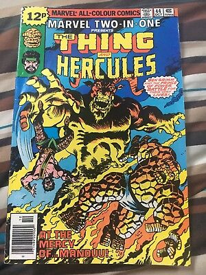 Marvel Two-In-One No 44 Oct 1978 (VFN+) (8.5) Thing & Hercules