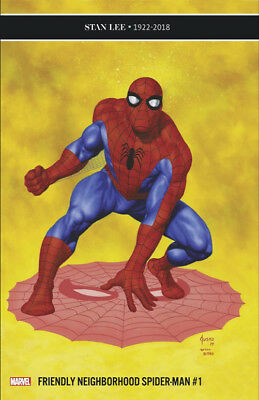 Friendly Neighborhood Spider-Man 1 Joe Jusko 1:25 Variant New Series Nm In Hand