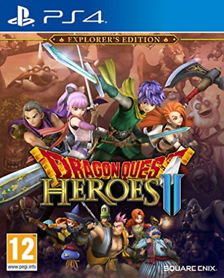 Software - PS4-Dragon Quest Heroes 2 Explorers Ed GAME NUOVO