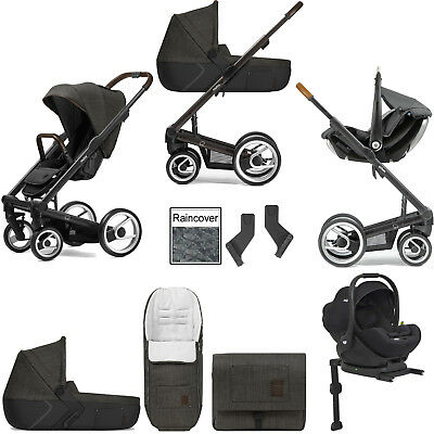 Mutsy I2 Farmer Forest Black Brown Frame I-Level Travel System & Accessories