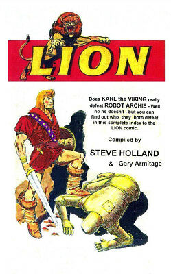 Lion Comic   A Complete Index To The Comics