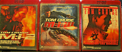 Mission Impossible- Ultimative Collection 4 x HD DVD-Filme ,High-Quality!!!