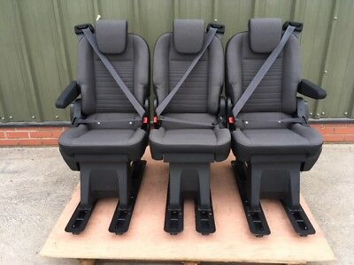 FORD TRANSIT CUSTOM SEATS - New with Armrests - Low Starting Price - OEM