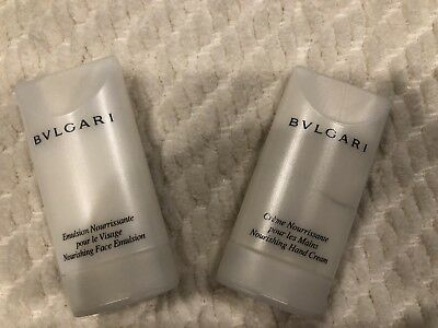 Bvlgari - Face and Hand Cream Set - 30 ml Travel Size - Set of 2