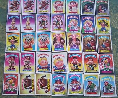 Complete set of Series 4 Garbage Pail Kids cards, excellent to near mint