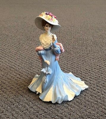 Coalport Figurine - Lady Sara - No 334 Of 5000 - Immaculate Condition