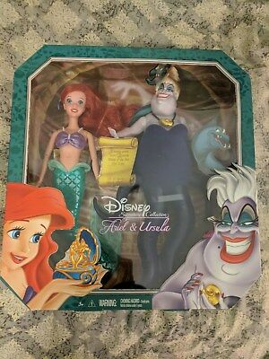 Disney Ariel and Ursula Signature Doll Collection