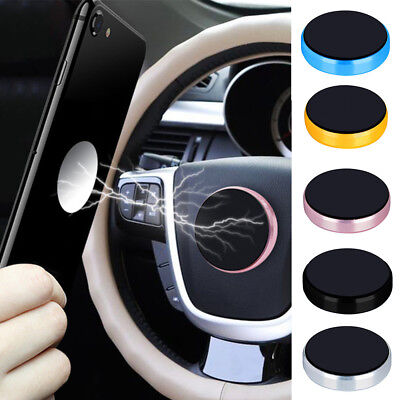 Universal Cell Phone GPS Mobile Car Magnetic Dash Mount Holder Fits GPS HUD Pad