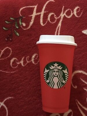 Get STARBUCKS Christmas * Holiday Drinks DISCOUNT ** with RED REUSABLE CUP 2018