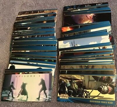 STAR WARS EPISODE 1 SERIES TWO  TOPPS WIDEVISION 1 TO 80  MISSING  No 23 - 35