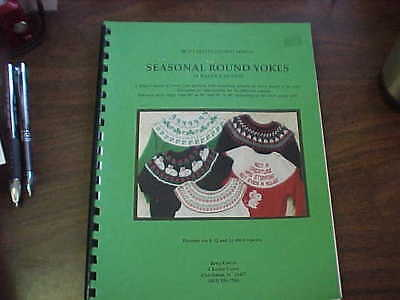 Seasonal Round Yokes with 6, 12 & 24 stitch Repeats. Includes Electronic Disk