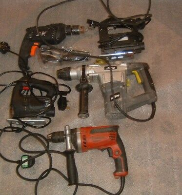 Joblot  240v Corded Power Tools Spares  or Repair