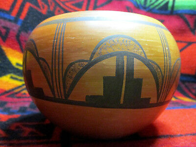 Stella Huma Hopi Native American Pottery Bowl