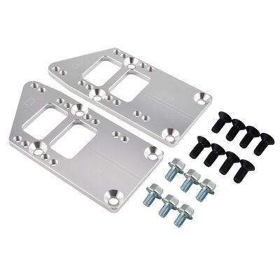 LS Engine Conversion Mount Adapter Plate Swap Kit LSX For Chevy Camaro Chevelle
