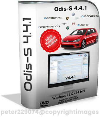 ODIS Software 4.4.1 Diagnostics Software ☆ Download Version ☆Newest 2018