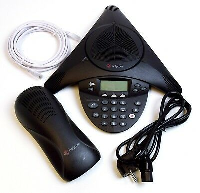 Polycom SoundStation 2 Non-Expandable Konferenztelefon Conference Phone Display