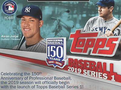 2019 Topps Series 1 Complete Base Set #1-350 Live  Qty