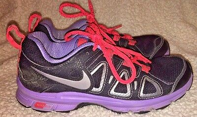 a0a17ce1088 Nike Women s Air Alvord 10 Running Walking Shoes Black Purple Pink SIZE 6