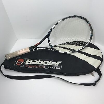 Babolat Pure Drive GT 4 3/8 Tennis Racket 100sq In Head size France With A Case