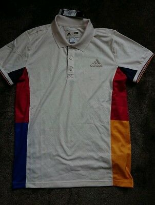 Adidas Pharrell Williams New York Tennis SET Shorts & Poloshirt M vintage borg