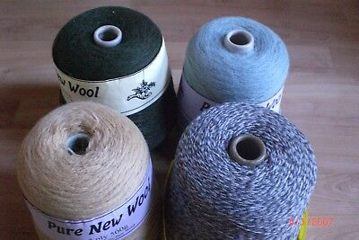 Knitting Cones Of Wool New But Faulty 500  Grams