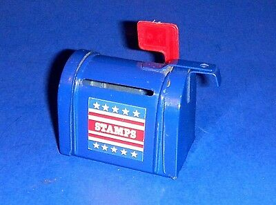 Cute Little Mail Box Roll Postage Stamps Dispenser / Holder