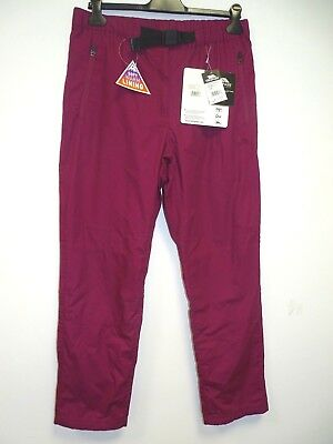 Trespass Contest Womens Outdoor Hose Quickdry Pants in Black Blue Purple