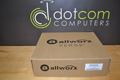 Allworx Verge 9312 Voip IP Color Display Phone 8113120 Gigabit & Backlit
