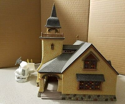 Dept 56  -  Season's Bay Series  -  Chapel On The Hill