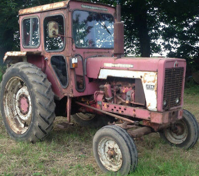international harvester 634 tractor with cab.