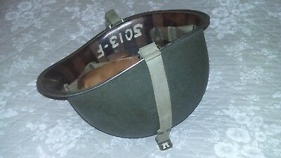 Casque us M1 attaches fixes McCord Liner MSA jugulaires complet officier WWII