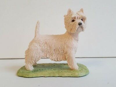 Border Fine Arts West Highland White Terrier - Ray Ayres - Westie Dog 1982