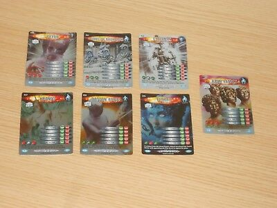 Doctor Who Battles in Time x 7 Rare Foils (638-696) See Numbers, Good