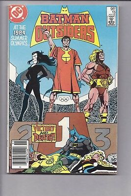 High Grade Canadian Newsstand Batman and Outsiders 1 $0.95 Price variant