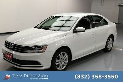 2017 Volkswagen Jetta 1.4T S Texas Direct Auto 2017 1.4T S Used Turbo 1.4L I4 16V Automatic FWD Sedan