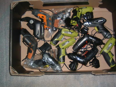 Joblot  Battery Operated Screwdrivers, Spares Or Repairs
