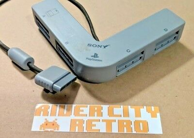 Official Original Sony Playstation 1 (PS1) Multitap Multiplayer Adapter 4 Player
