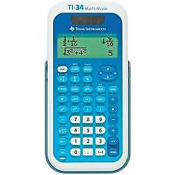 Texas Instruments Ti-34 Multiview Schulrechner  Ti34Multiview