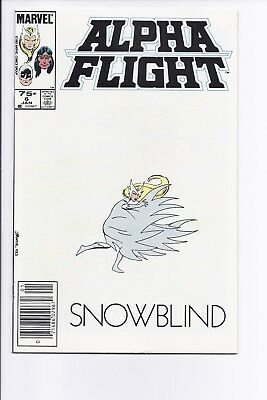 High Grade Canadian Newsstand Alpha Flight #6 $0.75 Price Variant