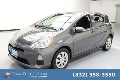 2014 Toyota Prius C One 4dr Hatchback Texas Direct Auto 2014 One 4dr Hatchback Used 1.5L I4 16V Automatic FWD