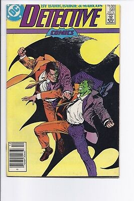 Canadian Newsstand Edition Detective #581 $1.00 Price Variant