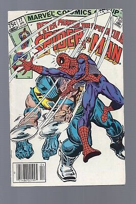 Canadian Newsstand Edition Spectacular Spider man #77 $0.75 Price Variant
