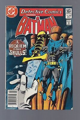 Canadian Newsstand Edition Detective #528 $0.75 Price Variant