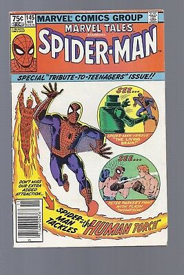 Canadian Newsstand Edition Marvel Tales #145 $0.75 Price Variant