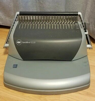 CombBind C110 Comb Binding Machine