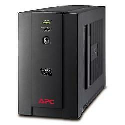 Apc - Surge And Back Ups Apc Back-Ups 1400Va 230V Avr Schuko Sockets In  Bx1400U